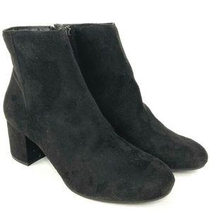 Rebel by Zigi Women Shoe 10 Nanon Block Heel